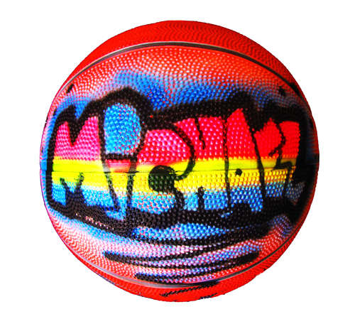 Air Brush Basketball