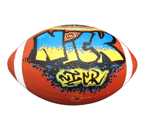 Air Brush Football