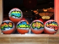 Air Brush Basketballs