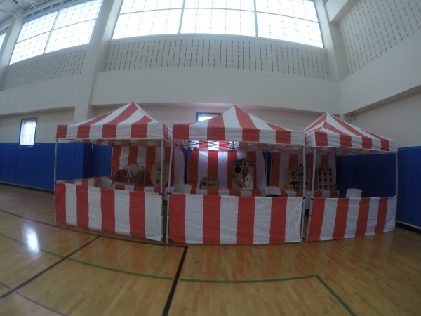 Multiple Carnival Tents For Big Events