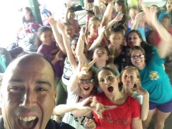 JCC Camp Dance Party Selfie!