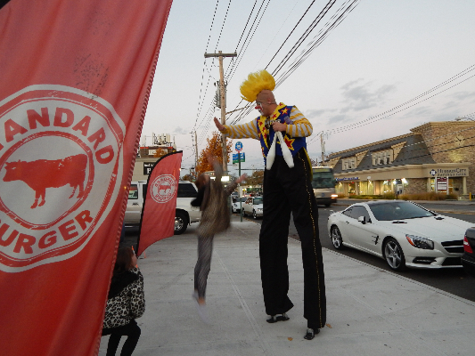 Standard Burger Grand Opening Event