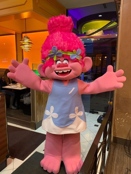 Pink Troll Character