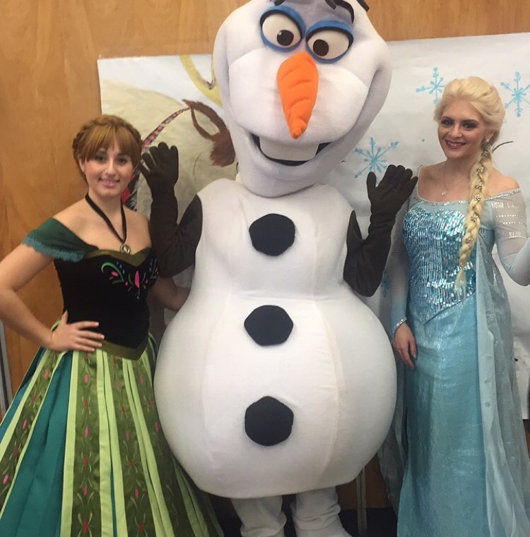 Snow Queen, Snow Princess & Happy Snowman