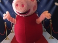 Pink Pig Character