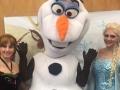 Snow Queen, Snow Princess & Happy Snowman