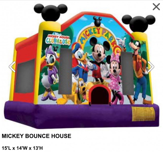Mickey Mouse Club House Bouncer