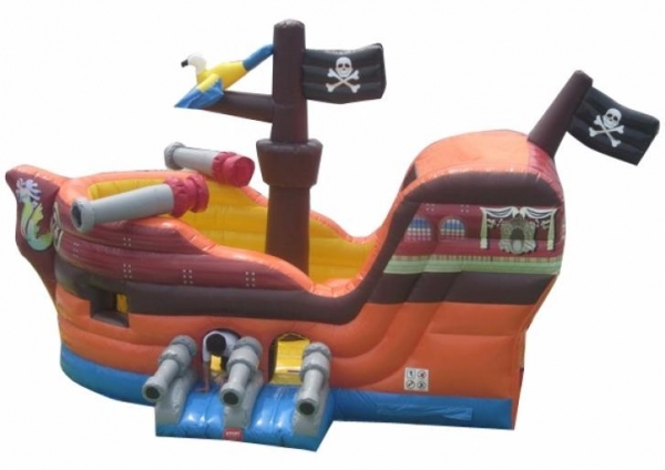 Pirate Ship Bouncer Slide Combo