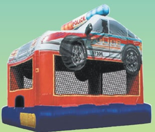Police Car Bouncer