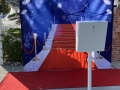 Open Air Red Carpet Photo Booth