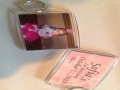 Photo Favor Keychains w/ Custom Labels
