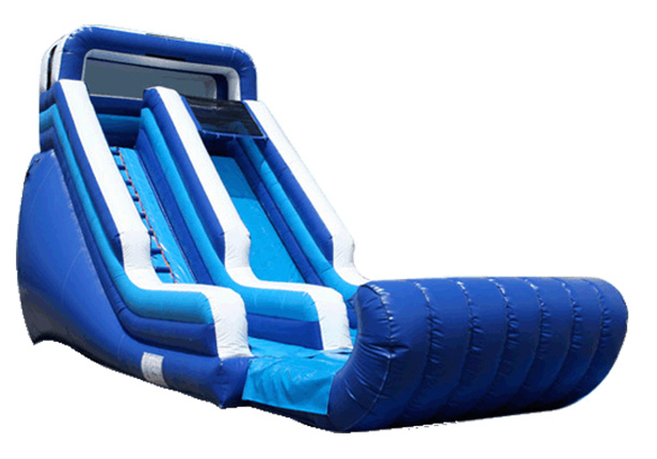 Blue & White Wet/Dry Slide