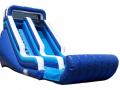 Blue & White Wet/Dry Slide