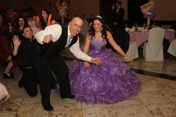 Billy Bee w/ Juliette during her Sweet 16