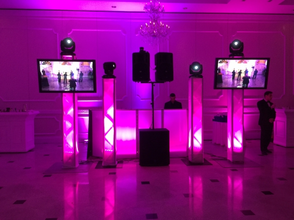 Dj Set Up - Screens & Moving Heads