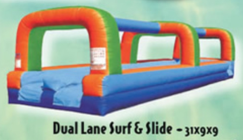 Dual Lane Surf & Slide
