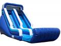 18' Blue Splash Slide