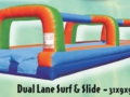 Dual Lane Surf & Slide